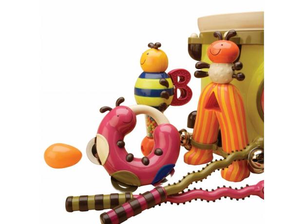 Набор звуковых игрушек B.Toys (Battat) «ПАРАМ-ПАМ-ПАМ», фото , изображение 3