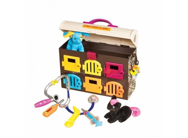 Детский ветеринарный набор B.Toys (Battat) «Critter Clinic», фото