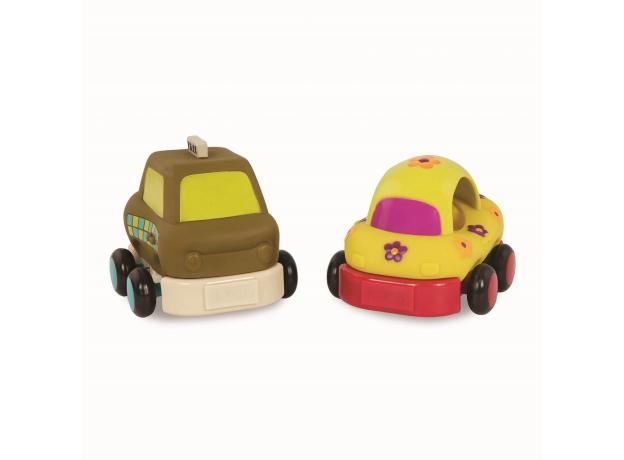 68621-4 Набор из 4 игрушечных машинок, фото , изображение 3