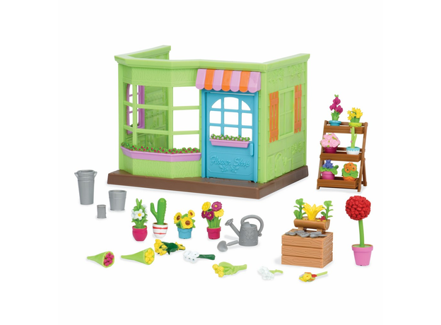 Игровой набор с аксессуарами Li'l Woodzeez «Цветочный магазин», фото