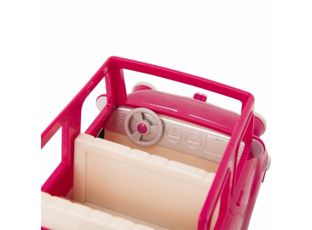 Машина с чемоданом Li'l Woodzeez; розовый, фото , изображение 9