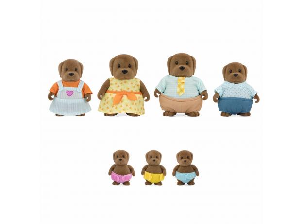 Игровой набор Li'l Woodzeez «Семья собак»; большой, фото , изображение 2