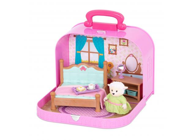 Игровой набор в чемоданчике Li'l Woodzeez «Спальня», фото , изображение 3