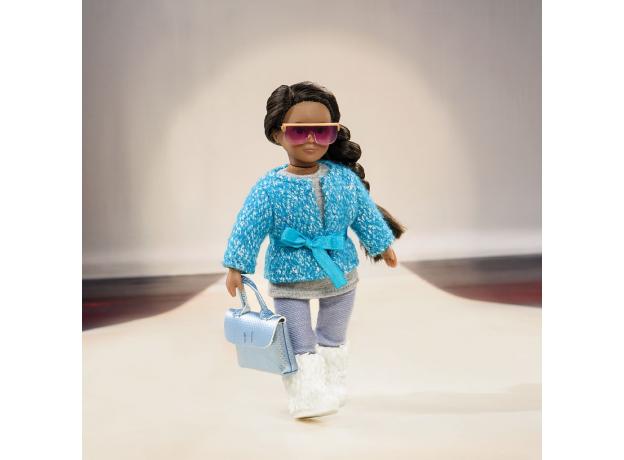 Комплект одежды для куклы Lori с шерстяным пальто, фото , изображение 2