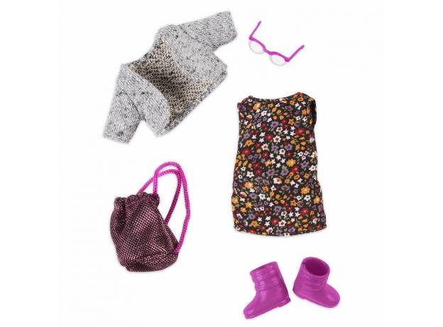 Комплект одежды для куклы Lori с платьем, фото , изображение 2