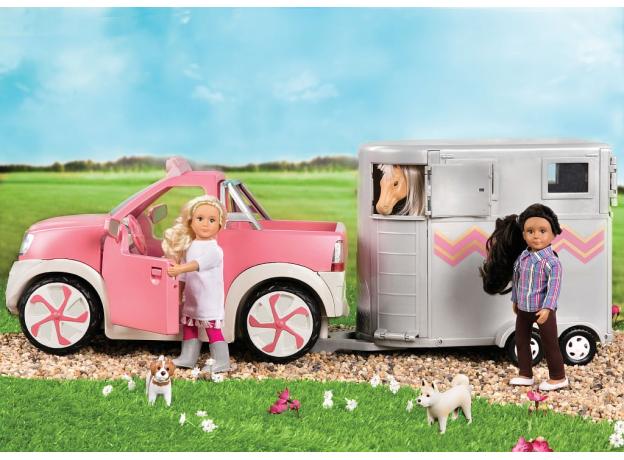 Пикап для куклы Lori с настоящим FM-радио, фото , изображение 5